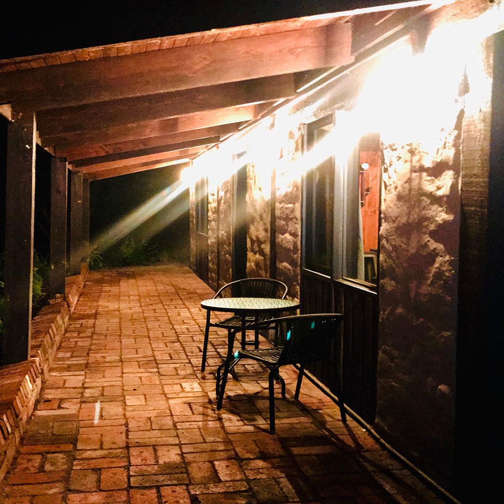 Myrtle verandah night2